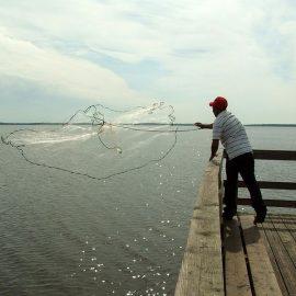Plase de pescuit individual
