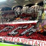 Coreografie 3d Dinamo Steaua 17 aprilie plase